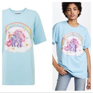 NEW Moschino My Little Pony oversized shirt